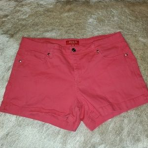 Pink guess shorts